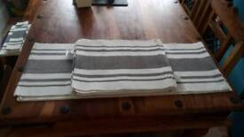 Wilko Table Runner and Placemats