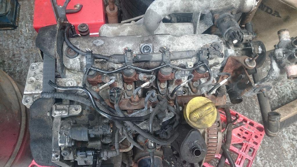 Renault Trafic Vauxhall Vivaro Primestar 1 9 Dci Engine