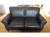 Leather Settee x 2 excellent condition