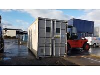Used 20ft Shipping Container HIGH TOP TUNNEL FOR SALE £2250+vat IN STOCK FOR VIEWING portable cabin