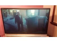 sony bravia 55 inch 1080 hd tv with remote/ new dvd player