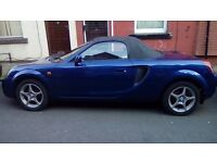 Toyota mr2 roadster full mot