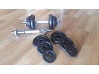 Dumbbells and weight plates