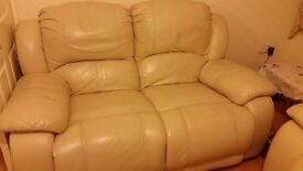 Harveys, Pure leather, with recliner, Very good condition