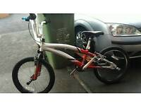 Magna bmx with 3 pice cank & stunt pegs