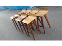 7x ZEITRAUM MORPH BAR STOOLS,THEY COST APPROX £4500 TO BUY