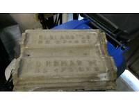 10 large roof tiles