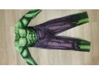 hulk outfit age 7-8 never worn