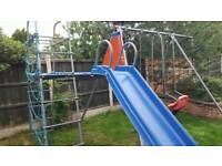 Swing set and climbing frame £70