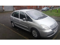 06 CITREON PICASSO 1.6 HDI DIESEL, LONG MOT FULL SERVICE HISTERY
