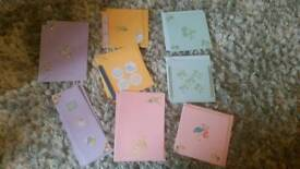 Craft cards - New arrival - New baby boy / girl cards