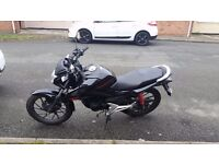 Cb125F with aftermarket exhaust 18 months MOT Gear indicator