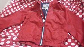 Children red coat