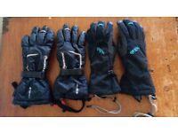 Women's Rab icefall gaunlet glove + women's Montane (primaloft) classic glove. Medium