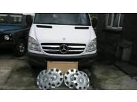 Mercedes Sprinter wheel trims