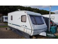 Caravan 4 berth fixed bed awning and extras