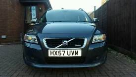 Volvo V50 2.0d R Design Estate with FSH, HPI clear and less than 91000 miles
