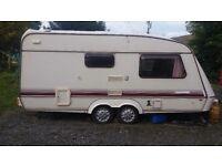 Large 2 berth caravan