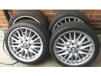 BMW ALLOY WHEELS STOLEN FROM MY GARDEN IN B18 (Winson green) if i find you i will...