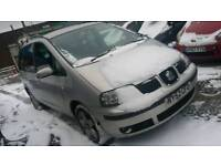 Seat Alhambra Tdi 7 Seater 1.9 diesel with mot