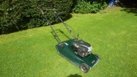 Hayter 48 self propelled lawn mower with roller