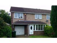 Appleton Way,Bentley, 3 bed semi with en-suite & garage for rent
