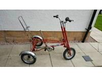 Raleigh Big Trike..mark 4A...spares or repairs