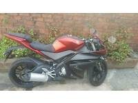 Yamaha yzf r125 2015, learner legal 125 cc road bike