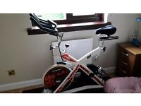 H9173PW Spin Bike bought new from Powerhouse in Nov 14 in excellent condition