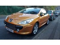 Peugeot 307 cc coupe convertible 2.0 140bhp Sport manual | rare Salamanca orange | just 74k miles