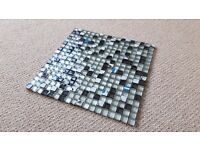 Mosaic tiles (glass & metal) (30cm x 30cm) (18 x 18 squares)