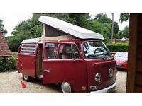 1970 Bay window Westfalia pop top Campervan