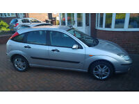 Silver Ford Focus - LX 1.6, 2004, excellent condition