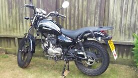 50cc Zontes Tiger, MOT til Aug 18, Small dents on petrol tank, very low mileage, excellent fuel use.