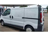 Vauxhall vivaro panel van long mot very economical service history tidy cd central lock