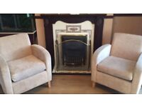 Pair of Shackleton arm chairs (will sell separately)