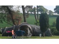 Selling a tent in great condition. 9 man tent. Easy to put up. Great for groups and larger families