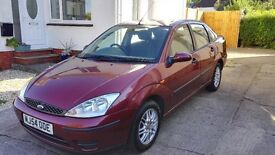 FORD FOCUS 1.6 LX 4 DOOR SALOON PETROL