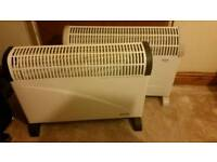 2 convector heaters good working delivery available