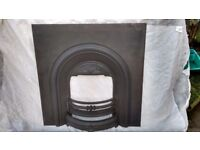 Traditional Cast Iron Fire Insert