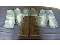 Four pairs of boys shorts age 5-6