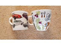 China Mugs - Gardening & Classic Cars (NEW)