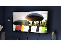 43 inch LG LED 4K HD SmartTV look like new (with stand)