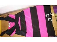 Striped dress szM