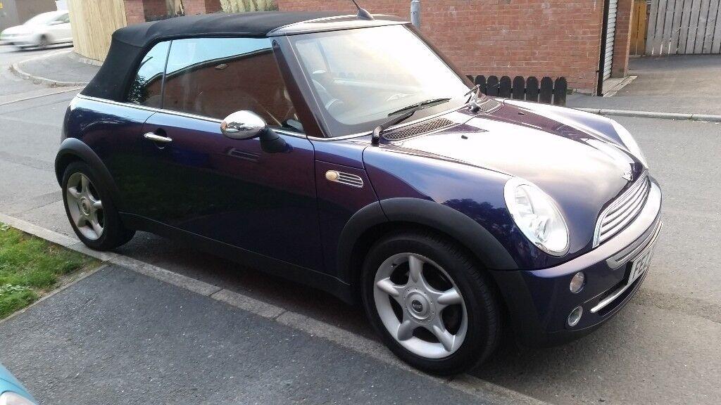 REDUCED**2005 Mini Cooper convertible stunning looks