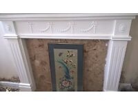 Fire surround & marble hearth £35 ono needs gone asap