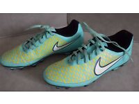 Blue Mens NIKE Magista Ola FG Firm Ground Football Boots - UK Size 8