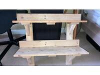 Handmade Wooden Set of Shelves