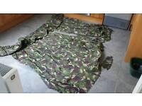 Children's army dpm camouflage pattern curtains