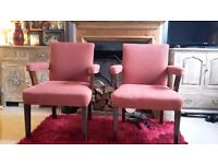 2 x Vintage Armchairs for sale...Good condition